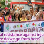 Global resistance against injustice:  Where do we go from here?