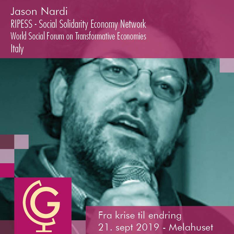 Jason Nardi - RIPESS / World Social Forum on Transformative Economies / EDGE Funders Alliance