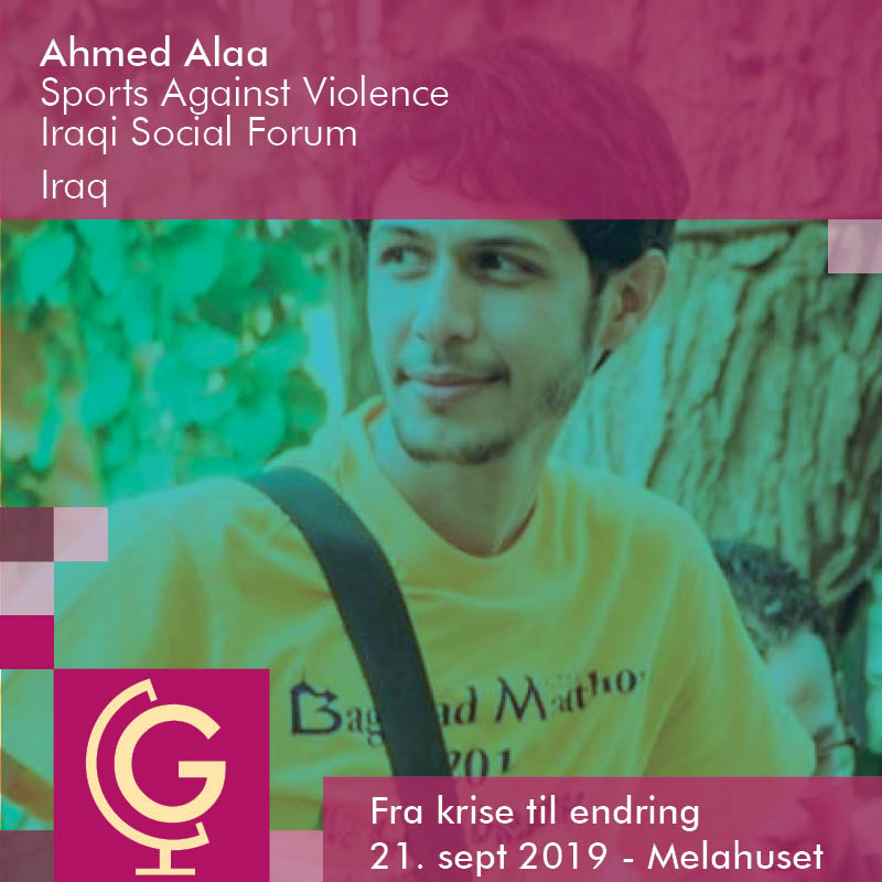 Ahmed Alaa,  Sports Against Violence,  Iraqi Social Forum (ISF