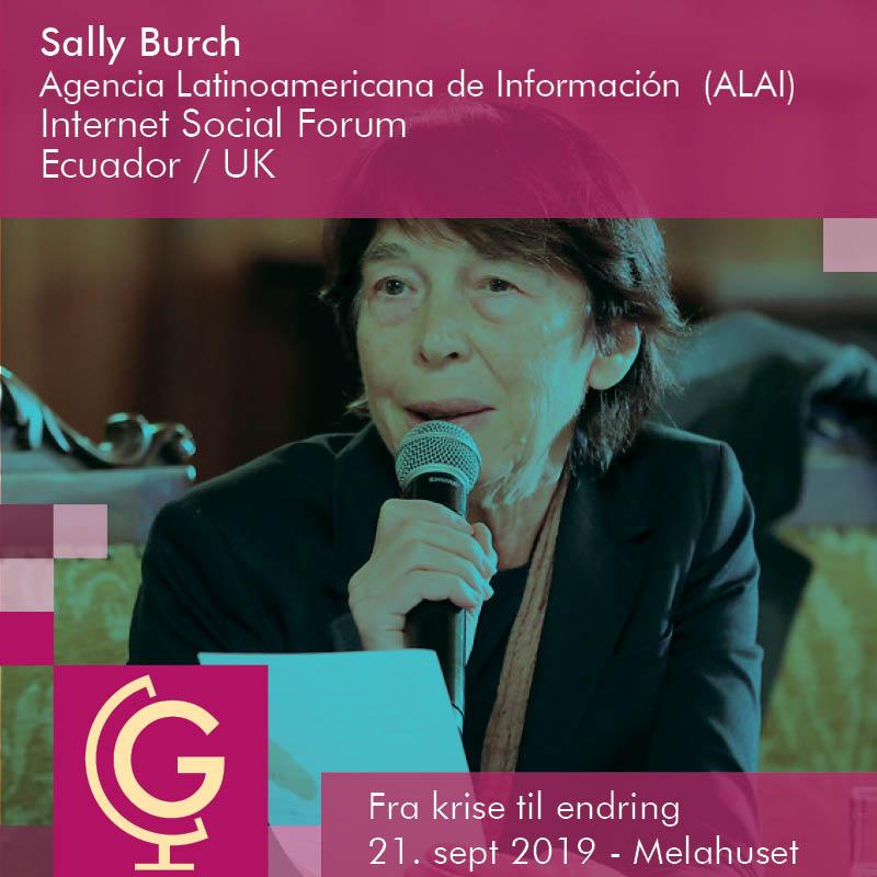 Sally Burch - Agencia Latinoamericana de Información (ALAI), Ecuador