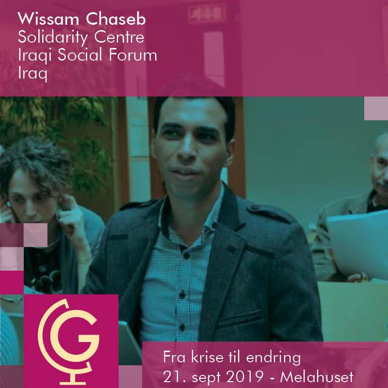 Wissam Chaseb - Iraqi Social Forum (Iraq)