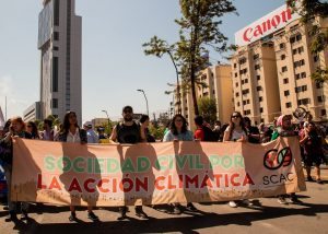 SCAC demonstration in Chile