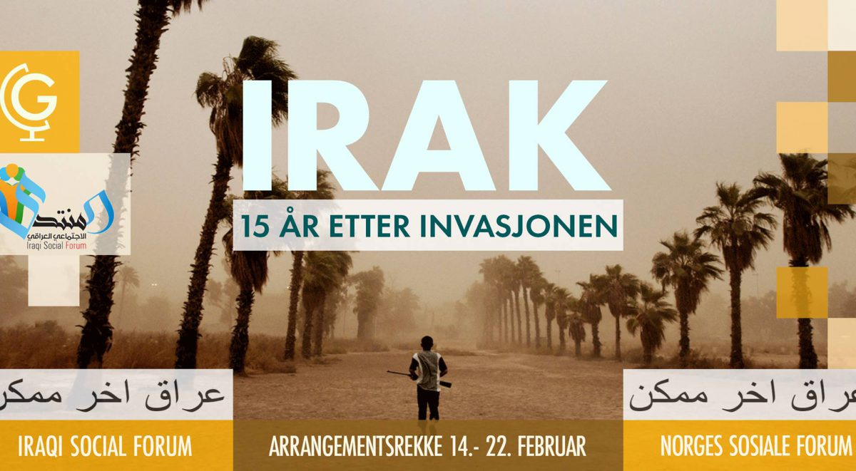 15 Years Since The War In Iraq Event Series In Oslo With The Iraqi