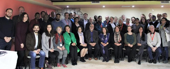 Kairos Palestine 9th Anniversary Conference participants - December 2018