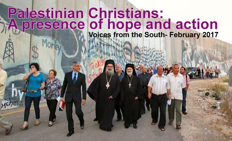 Palestinian Christians A Presence Of Hope And Action Karibu