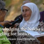 Acknowledging the Nakba and Struggling for Justice:  Jewish South Africans travel to Lubya